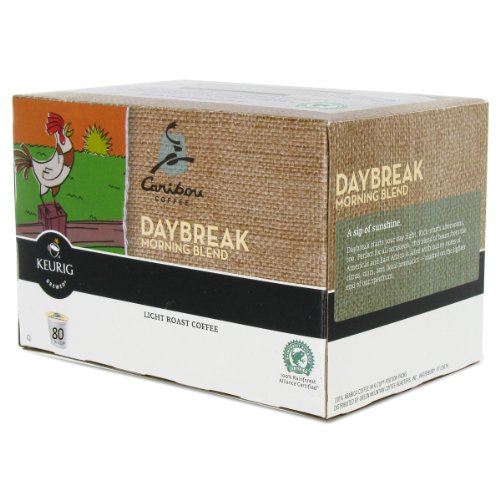 Caribou Daybreak Morning Blend Coffee K-Cups - 80ct.