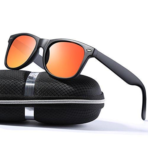 wearPro Wayfarer Sunglasses for Men Women Vintage Polarized Sun Glasses - Polarized Lenses Sun