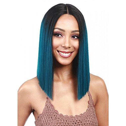 New Bobbi Boss MLF136 Yara Lace Front Wig Color 1B (1B) for cheap