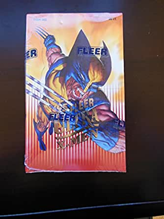 '95 Fleer Ultra X-Men 1995 Trading Cards Box -36 Count