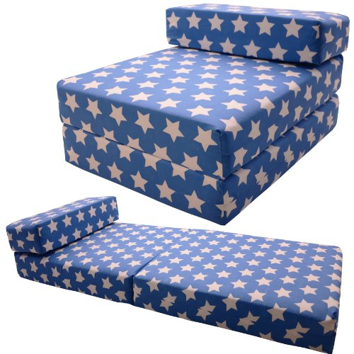 STANDARD CHAIRBED - Kids Single Chair Z bed Guest Childrens Futon