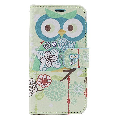 iPhone 6/6s Case, Insten Owl Stand Folio Flip Leather [Card Slot] Wallet Flap Pouch Case Cover for Apple iPhone 6/6s, Colorful