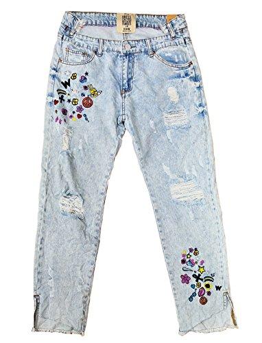 Wiya Jeans - Femme Bleu denim