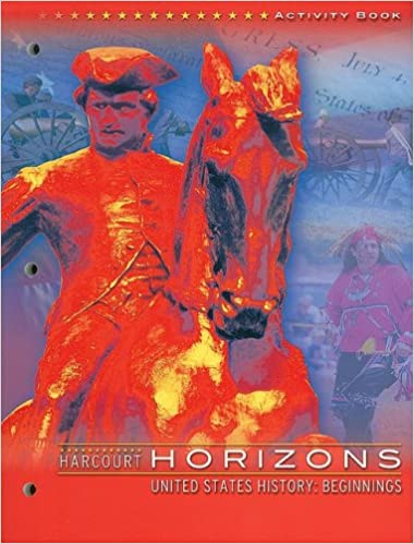 Harcourt School Publishers Horizons Activity Book Grade 4