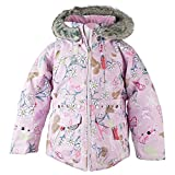 Obermeyer Kids Baby Girl's Taiya Jacket (Toddler/Little Kids/Big Kids) Snowday