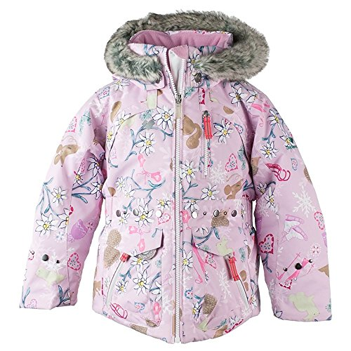 Obermeyer Kids Baby Girl's Taiya Jacket (Toddler/Little Kids/Big Kids) Snowday 4T by Obermeyer Kids