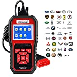 OBD2 Scanner, Auto Diagnostic Code Scanner KW850 Pro Universal Vehicle Engine O2 Sensor Systems Scanner OBD2 EOBD Scanners Tool Check Engine Light Code Reader for all OBD II Protocol Cars Since 1996