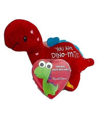 Amazon Com You Are Dino Mite Valentines Bundle 1 Plush Dinosaur