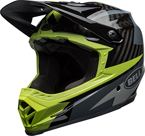 Bell Full-9 MIPS Adult Full Face Bike Helmet (Gloss Smoke/Shadow/Pear Rio (2018), Large)