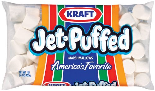Jet Puffed Marshmallow (Jet Puffed Marshmallows, 16-Ounce Bags (Pack of 12))