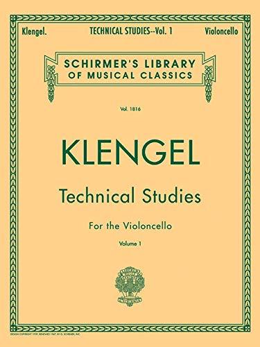 Klengel Technical Studies, Vol. 1: - 1 Cello Volume