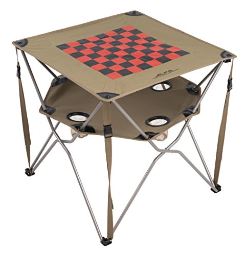 Checker Board Eclipse Camping Table made our list of Gifts For Active Women, Gifts For Women Who Hike, Gifts For Women Who Fish, Gifts For Women Who Camp