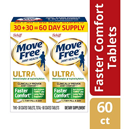 Joint Formula Powder - Move Free Advanced Ultra 2-in-1 With Comfortmax, Clinically Proven Joint Support, 60 Count