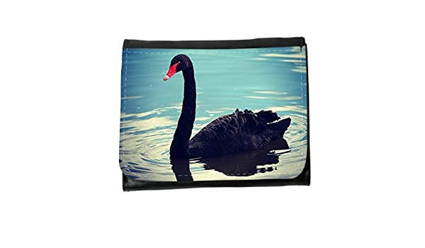 le portefeuille de grands luxe femmes avec beaucoup de compartiments // M00314834 Ganso del cisne Pato Naturaleza // Small Size Wallet: Amazon.es: ...