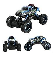 TTLIFE Rock Crawler RC Car - 4x4 Remote Control Car - 1/14 Rock Master Rock Crawler with 2.4Ghz Controller (blue)