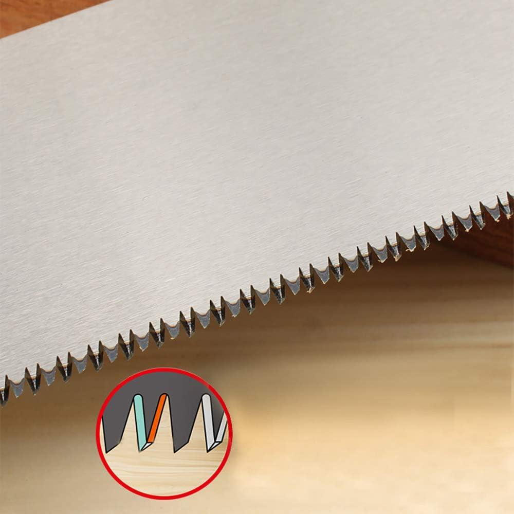 sierra de repuesto Zunbo Sierra japonesa Ryoba de doble cara para corte fino y grueso