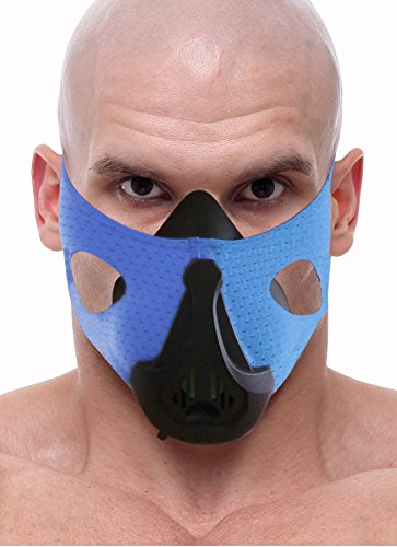 ETM Elevation Training Mask Enhanced - For Better Workout Efficiency - Simulate Up to 20,000ft Altitude with 6 Breathing Levels - Good for All Athletes by ETM