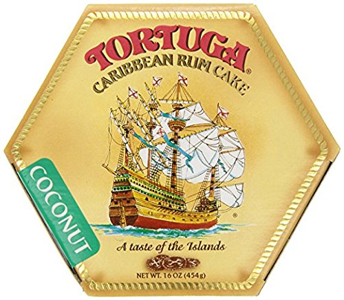Caribbean Rum Cake - Tortuga Caribbean Coconut Rum Cake, 16-Ounce Box