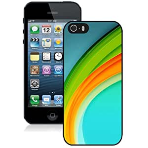 New Personalized Custom Designed For iPhone 5s Phone Case For Abstract Rainbow Phone Case Cover