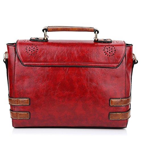 Whoinshop - Borsa a tracolla donna red