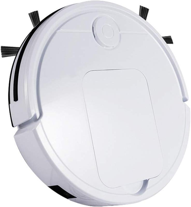 POAE Robot de Balayage Intelligent, nettoyez l\'aspirateur avec Moins de fuites, amincissez Le Corps, Anti-Chute et Anti-Collision-White White