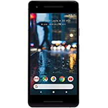 Google Pixel 2 64 GB Unlocked Smartphone for All GSM Carriers Worldwide, Just Black (Certified Refurbished)