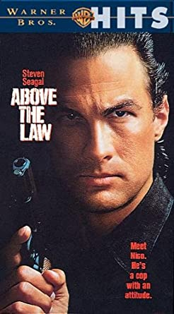 Above the Law [USA] [VHS]: Amazon.es: Steven Seagal, Pam ...