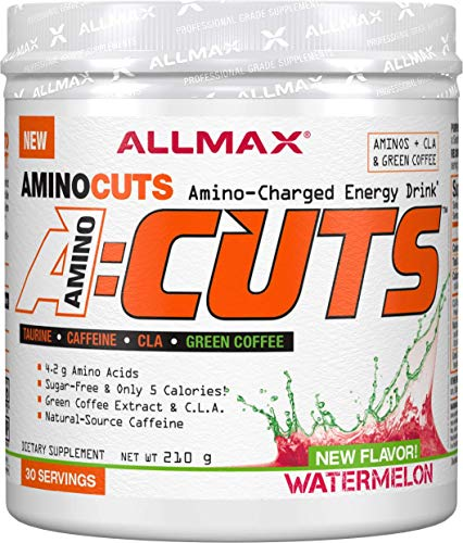 ALLMAX Nutrition A:CUTS, Amino Charged Energy Drink, Watermelon, 210g