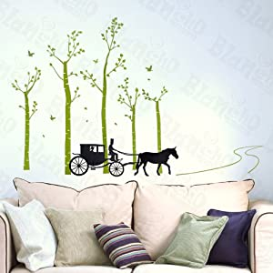 Amazoncom Country Road Large Wall Decals Stickers Appliques - Wall decals carscars wall decals add photo gallery car wall decals home design ideas