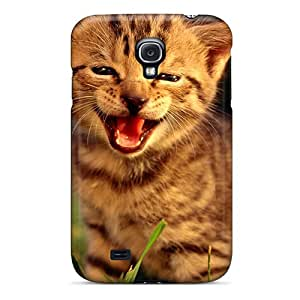 Hot Friendly Kitten First Grade Tpu Phone Case For Galaxy S4 Case Cover