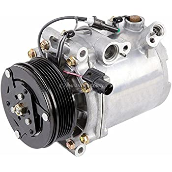 AC Compressor & A/C Clutch For Mitsubishi Lancer 2008 2009 2010 2011 - BuyAutoParts 60-02988NA NEW