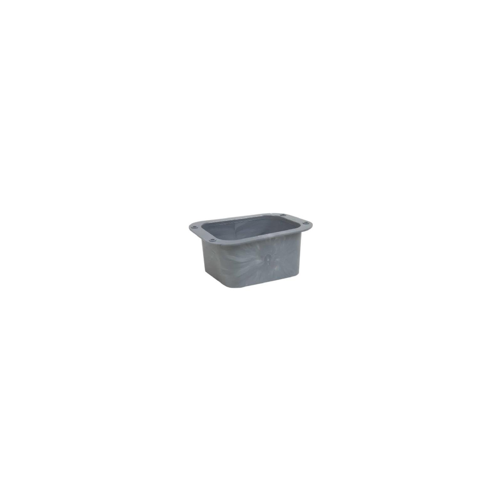 Amerimax C Outlet 2 '' X 3 '' Plastic Gray