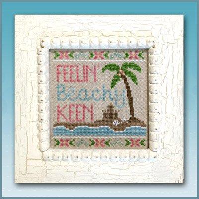 Beachy Keen Cross Stitch Chart and Free Embellishment