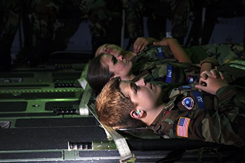 Home Comforts LAMINATED POSTER Members of the 315th Aeromedical Evacuation Squadron conduct training operations with the support fr -