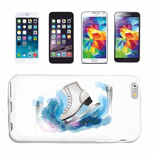 "cas de téléphone iPhone 7+ Plus ""TRACK ICE ICE HOCKEY PATINAGE ICE COUREURS LAME ICE TRACK HOCKEY PATINAGE"" Hard Case Cover Téléphone Covers Smart Cover pour Apple iPhone en blanc"