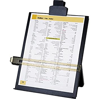 Sparco Easel Document Holders, Adjustable, 10-3/8 x 2-1/4 x 12-1/2 Inches, Black (SPR38952)