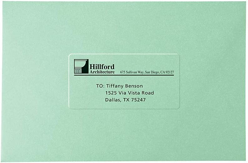 2,310 Matte Frosted Clear Labels 5311 Avery Address Labels for Copiers 1 x 2-13//16