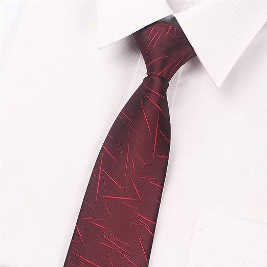 YYB-Tie Corbata Moda La Cremallera del Lazo Masculino Perezoso de ...