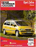 Revue Technique Automobile N°633.1 Opel Zafira Diesel