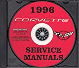 1996 CORVETTE REPAIR SHOP & SERVICE MANUAL On CD. Includes Base, Collector's Edition, Grand Sport In Both Convertible and Hatchback