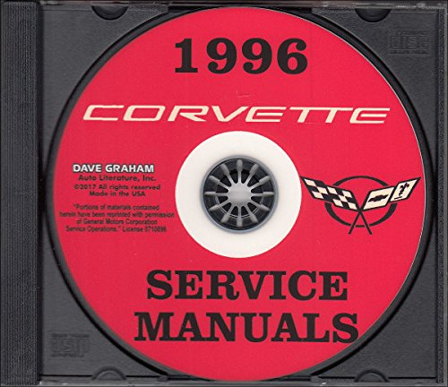 1996 CORVETTE REPAIR SHOP & SERVICE MANUAL On CD. Includes Base, Collector's Edition, Grand Sport In Both Convertible and - Hatchback System