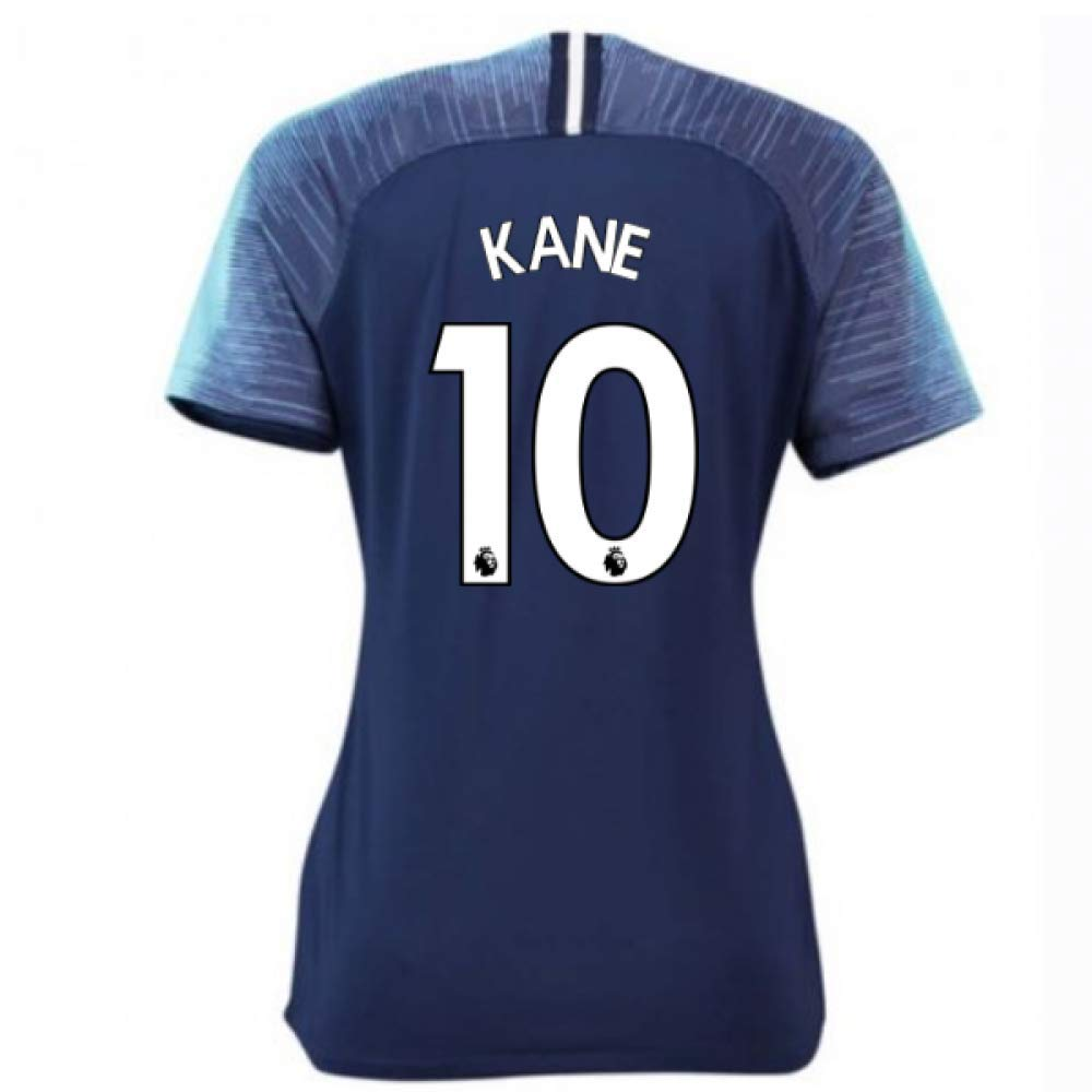 2018-2019 Tottenham Away Nike Ladies Football Soccer T-Shirt Trikot (Harry Kane 10)
