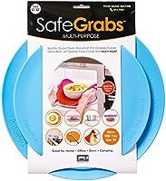 Safe Grabs: Multi-Purpose Silicone Original Microwave Mat as Seen on Shark Tank | Splatter Guard, Trivet, Hot Pad, Pot...