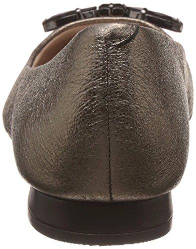 en Clarks Amulette Clarks en Smart pour cuir femme or Chaussures Glace zpznqrwIgf