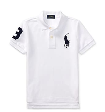 318a0d789 Amazon.com: Polo Ralph Lauren Boys Toddler Big Pony Polo Shirt: Clothing