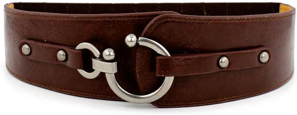 Oyccen Vintage Elástico Cinturón Mujeres Cinturones Ancho Corsé ...
