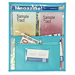 Transparent Pouch for invitation work and special campaigns - Turquoise