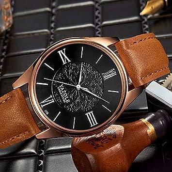 Fashion Watches Relojes Hermosos, YAZOLE Hombre Reloj de Moda Reloj de Pulsera Reloj Casual Cuarzo