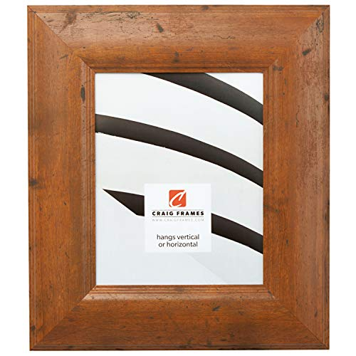 Cheap Craig Frames 80011 12 by 16-Inch Picture Frame, Smooth Wrap Finish, 3-Inch Wide, Light Walnut Brown