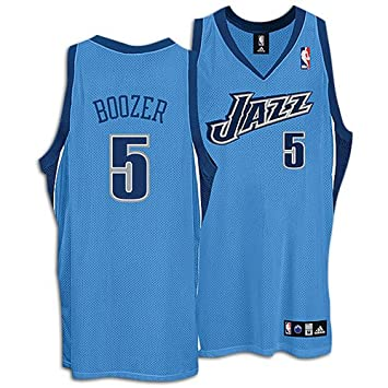 pretty nice 0e2ef b8f59 Amazon.com : Carlos Boozer Blue adidas NBA Light Authentic ...